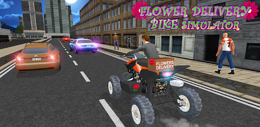 Flower Delivery Bike Simulator for PC
