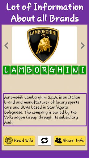 Best Car Brands Logo Quiz HD: Guess Car Symbols 0.8 screenshots 19
