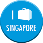 Singapore Travel Guide & Map Icon