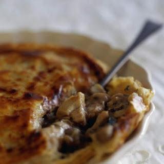 Chicken And Mushroom Pie.