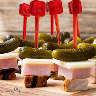 Cuban Sandwich on a Stick Appetizer.