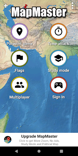 MapMaster Free - Geography game 4.8.3 screenshots 1