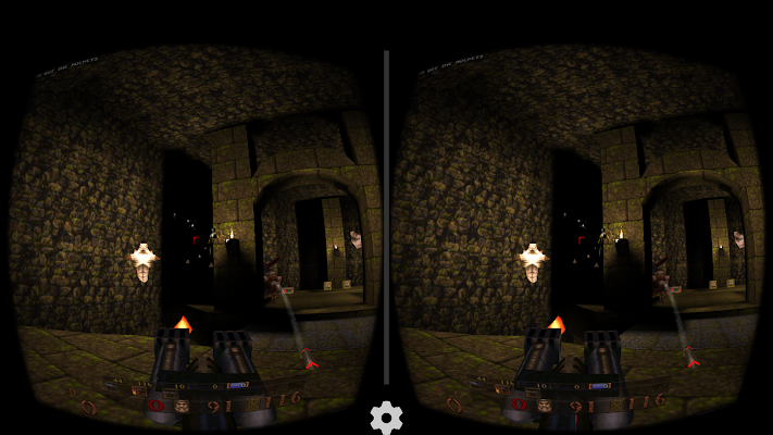 Quake for Google Cardboard- screenshot