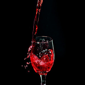 Red Wine by VICTOR TALLUD - Artistic Objects Other Objects