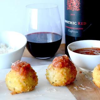 Gruyere Salami Risotto Balls (Arancini)