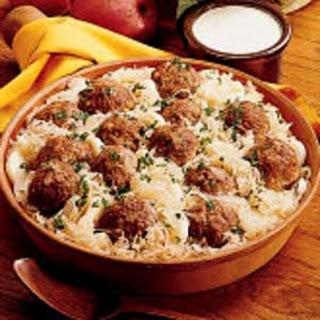 Beef and Sauerkraut Dinner