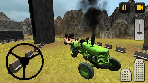 Classic Tractor Transport 3D