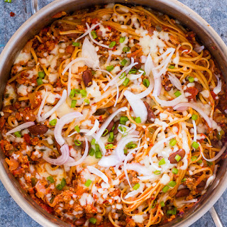 One Pot Chili Pasta Skillet