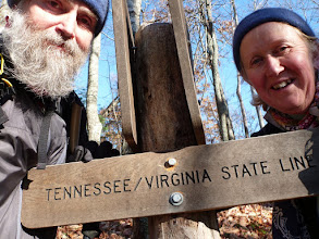 Photo: Entering Tennessee (Nov. 5th)