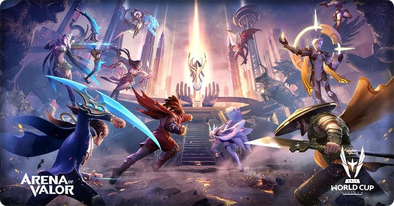 AWC 2019 จับสลากแบ่งกลุ่ม Arena of Valor