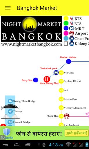 Bangkok Market Shopping