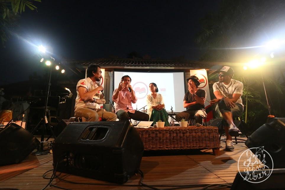 Musisi dan Sastrawan diskusi tentang keberagaman Indonesia