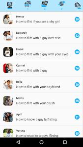 Flirt for females screenshot 0