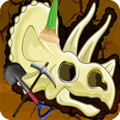 Digging Games - Find Dinosaurs Bones FREE icon