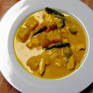 Untraditional Pineapple Coconut Curry.