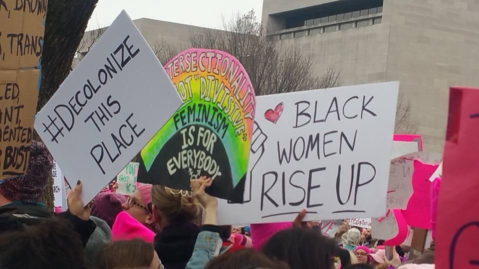 "Taken from Jessica Xiao's article ""The White Feminism of the Women's March is Still on My Mind"", ExtraNewsfeed"