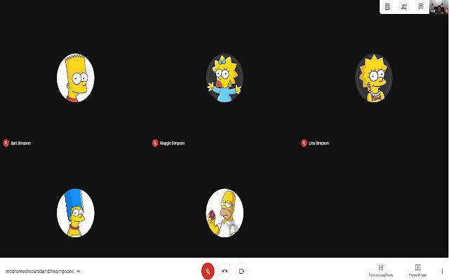 PCC Google Meet Grid View-By M Mourad & K Jaz