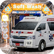 Real Ambulance Truck Wash Simulator 2018