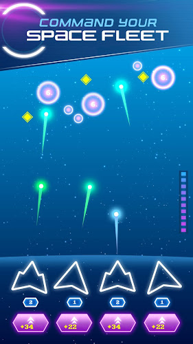 Non-Stop Space Defense - Infinite Aliens Shooter Android App Screenshot