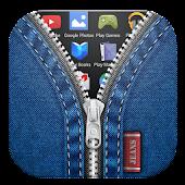 Jeans Zipper Lock Screen