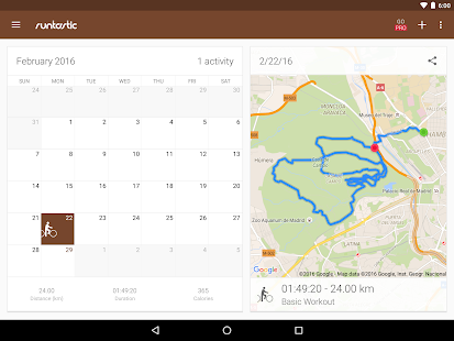 Runtastic Mountain Bike GPS- screenshot thumbnail