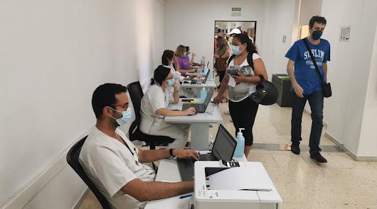Nuevo hito en Almería al superar el medio millón de vacunas