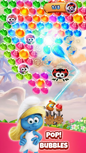 Smurfs Bubble Shooter Story 2.15.050301 screenshots 1