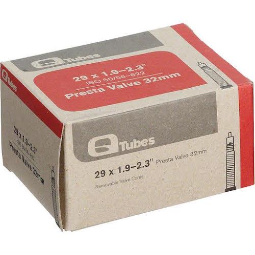 """Q-Tubes 29 x 1.9-2.3"""" 32mm Presta Valve Tube 220g"""