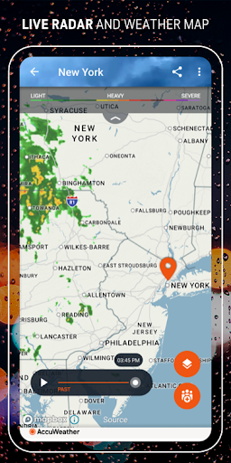 AccuWeather: Weather forecast & live radar maps 6.1.10-free screenshots 3
