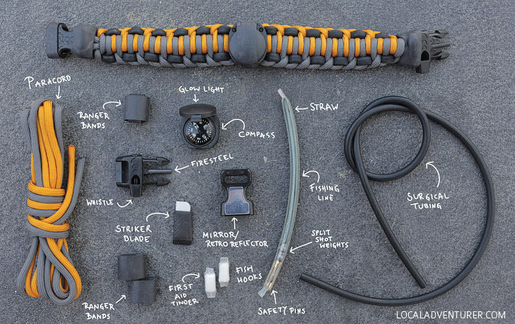 17-in-1 Survival Kit (15 Backpacking Essentials for the Practical Traveler).