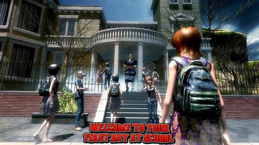 Spooky Teacher - High School Story  captures d'écran 1
