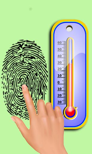 piada temperatura termômetro