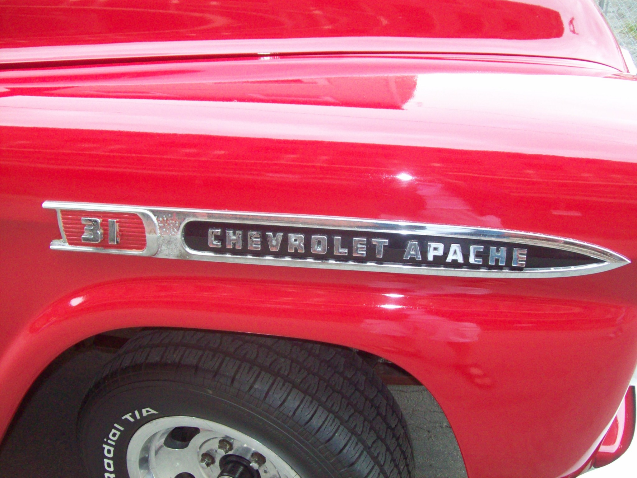 Photo: An old Chevy Apache
