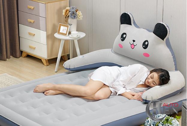 Đệm hơi hình thú đem lại giấc ngủ ngon cho mọi người