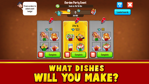 Food Street - Restaurant Management & Food Game 0.42.7 APK MOD screenshots 2