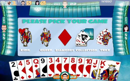 Golden Card Games (Tarneeb - Trix - Solitaire) 20.0.9.24 Screenshots 3