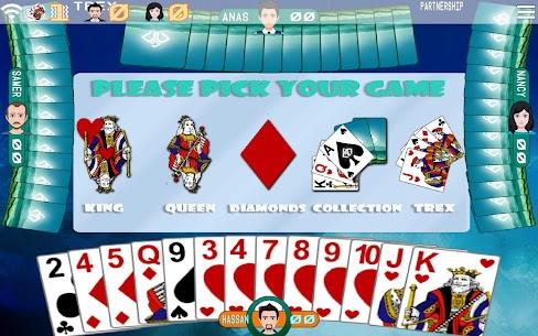Golden Card Games (Tarneeb – Trix – Solitaire) 3