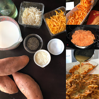 Sweet Potato Macaroni and Cheese Recipe