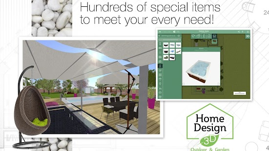 home design 3d roof.  Home Design 3D Outdoor Garden screenshot thumbnail Android Apps on Google Play