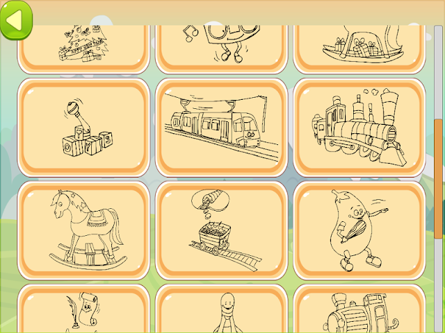android Train Coloring Book Screenshot 2