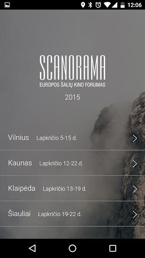 Scanorama 2015