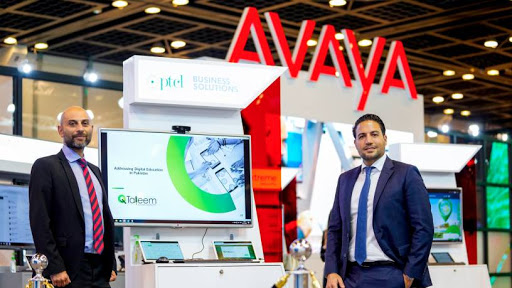 Left: Bilal Asghar, GM – ICT and Digital Services, PTCL, and Nour El Atassi, Director, Service Providers – APAC, Middle East and Africa, Avaya