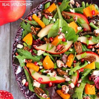 Harvest Salad with Butternut Squash