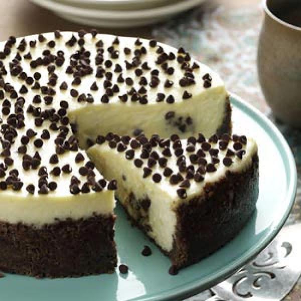 Chocolate Chip Cookie Dough Cheesecake Recipe