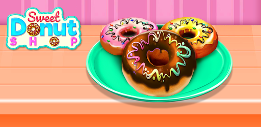 Be the owner of the dessert food cooking bakery shop to make sweet donut!