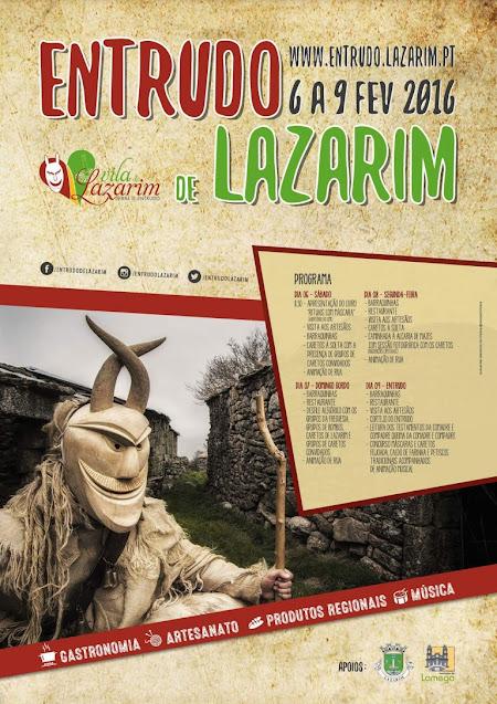 Programa - Entrudo de Lazarim - 6 a 9 de Fevereiro de 2016