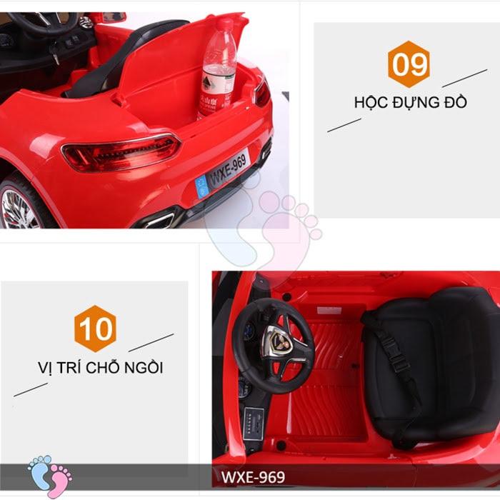 Xe ô tô điện trẻ em WXE-969 15