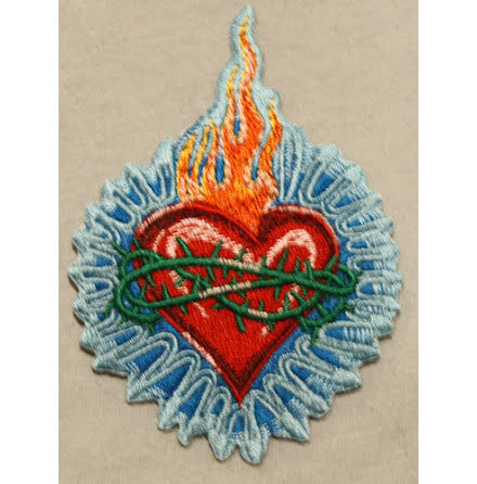 Holy Heart Patch - Tygmärke