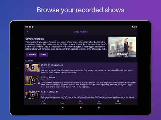 Channels: Whole Home DVR screenshots 12