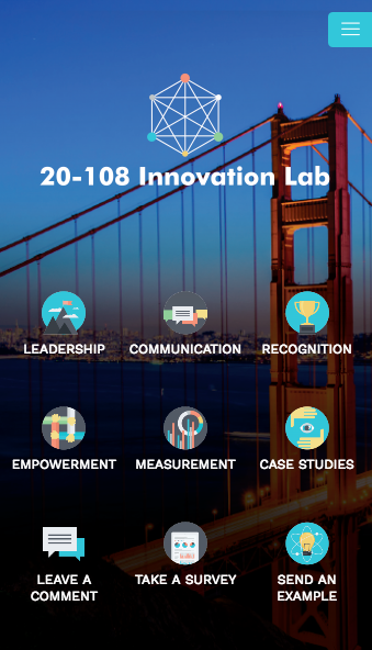 NCHRP-108 Innovation Lab- screenshot